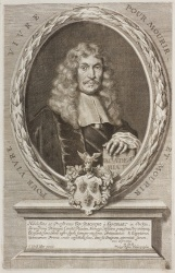 "Portrait of Joachim von Sandrart from the ""Teutsche Academie"""